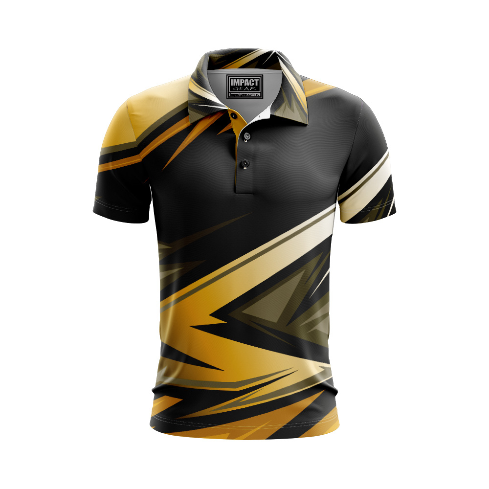 Fully Dye sublimated Polo shirt Moto cross design custom made
