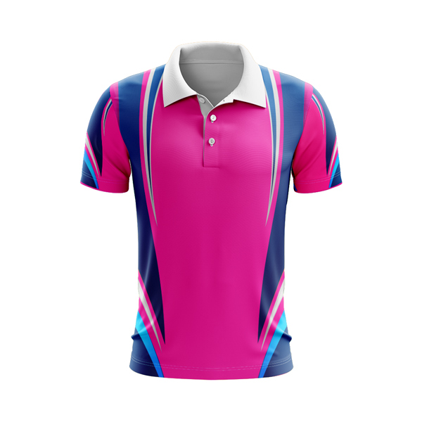 Dye Sublimation Polo Shirt, Hot Pink Navy, Cyan Blue. Custom made, 100's of designs to choose from