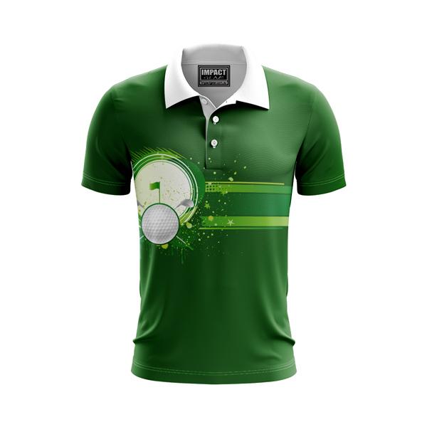 Dye Sublimated Polo shirt, Golf Design, DYO, Custom made