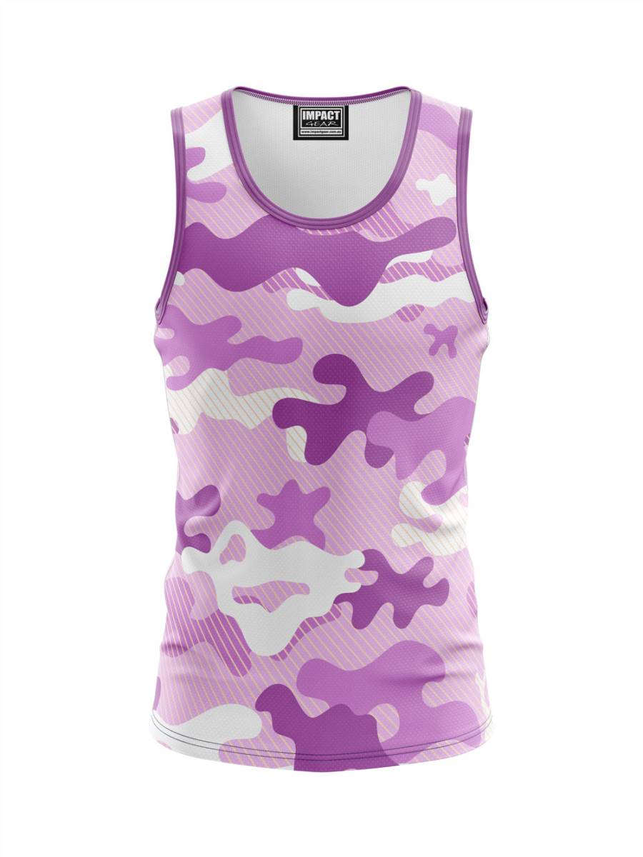 FP S843 CAMO PINK Sublimated Singlet