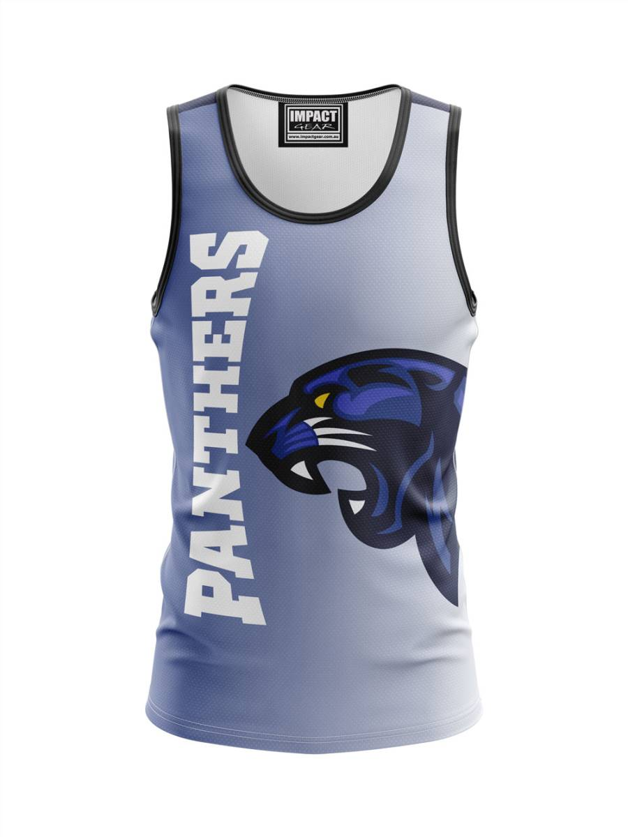 Panthers Design Dye Sub Singlet
