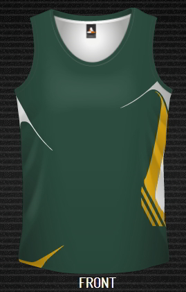 dYE Sublimated Aussie Singlet, CUSTOM MADE