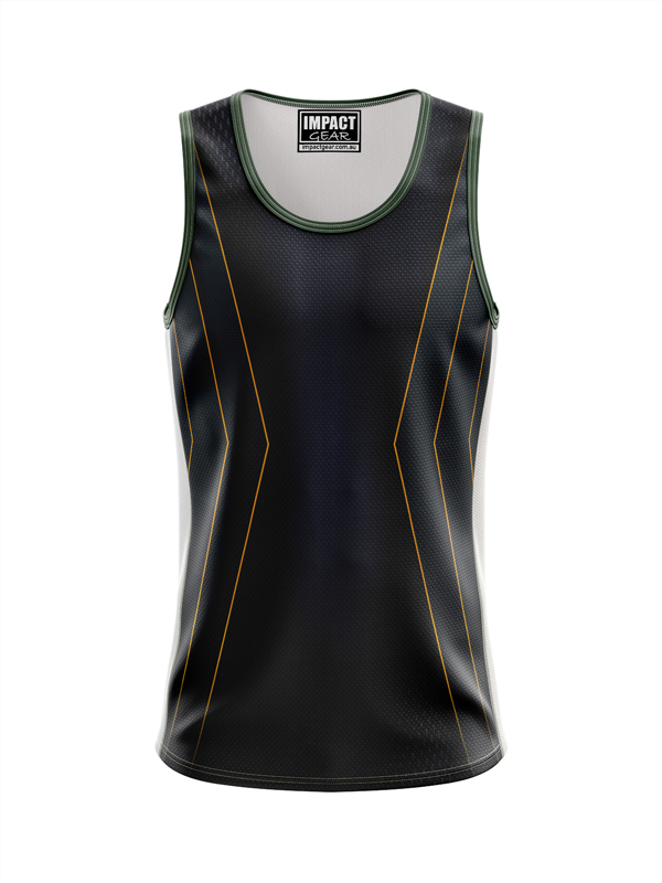 Dye Sublimated Singlet Side  Triangles