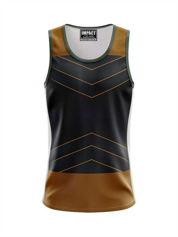 Fully Dye Sublimation Singlet ,13, cUSTOM MADE