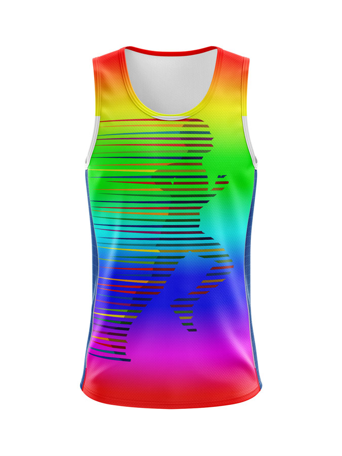 Sublimated Singlet Running