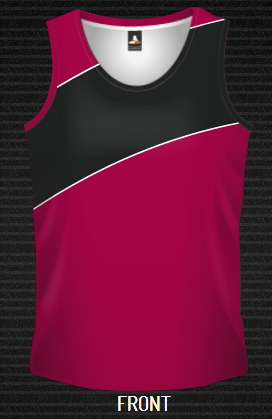 Sublimated Singlet Swipe