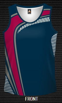 Sublimated Singlet Swoosh