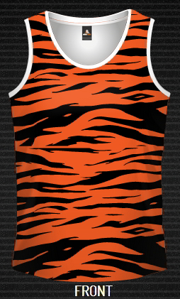 Sublimated Singlet TIGER