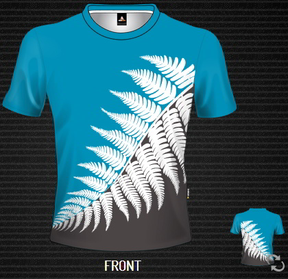 Sublimated T-shirt Leaf