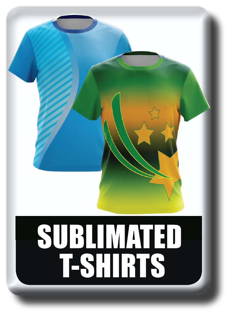Custom made, Cool Dry, Fully Printed, Sublimated T-shirts