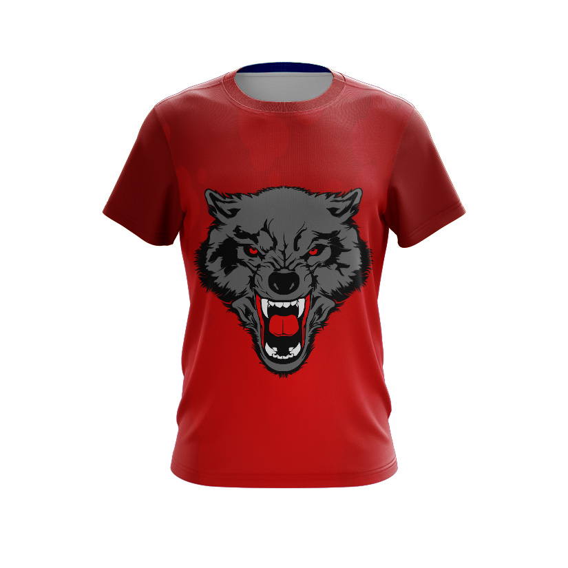 Fully Dye Sublimated T-shirt Wolves