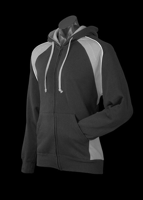 black / ashe / white panarama hoodie