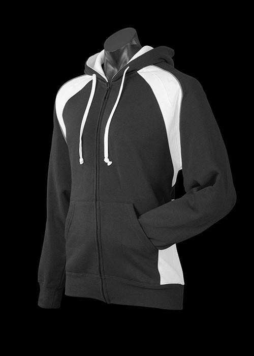 panorama hoodie -black-white-ashe-