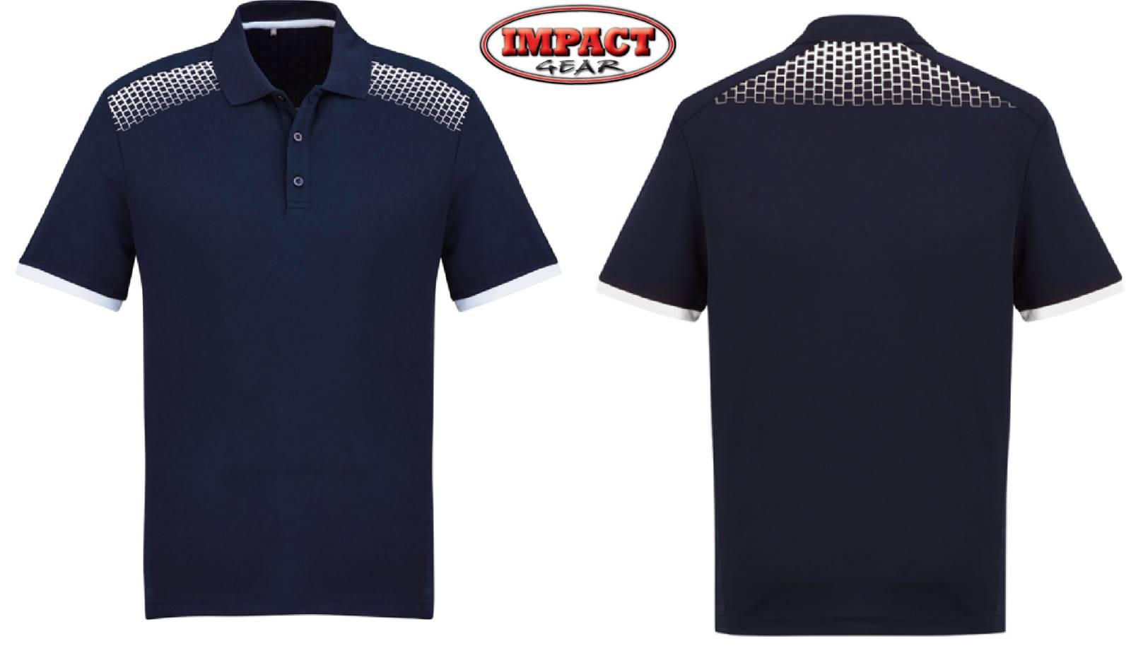 Navy / White Galaxy Polo shirt