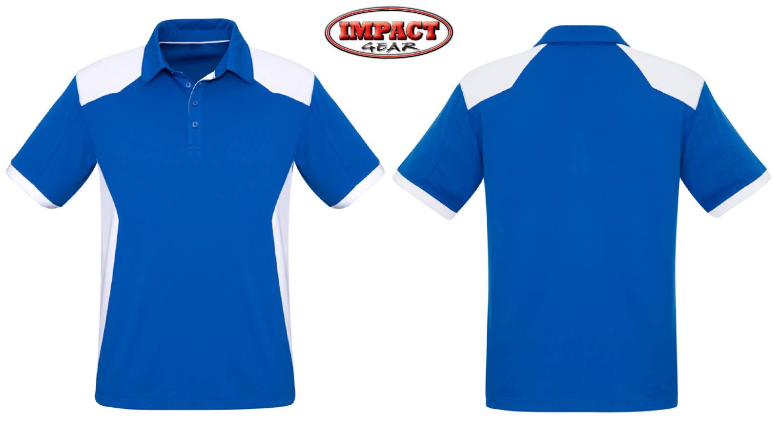 Royal White Rival Cool Dry Polo shirt Mens and Ladies Sizes