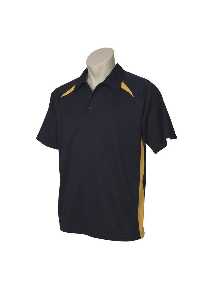 Navy Gold Splice Polo shirt