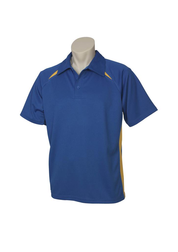 Splice  Polo Shirt Royal Gold