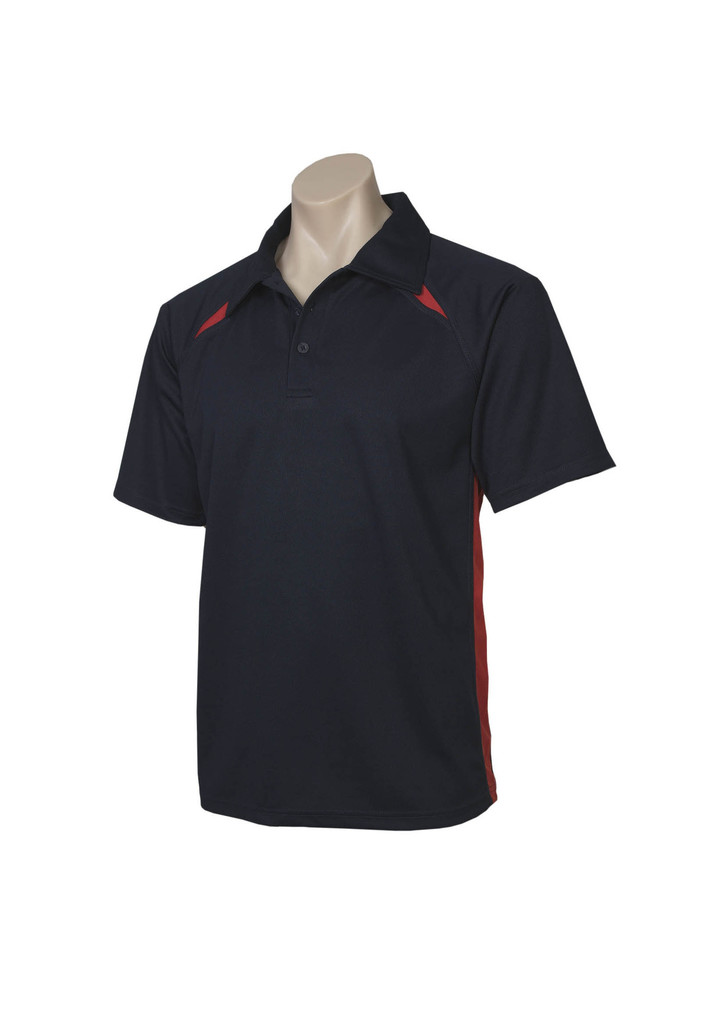 Navy Red Polo shirt