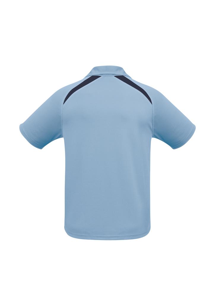 Spring Blue Navy Splice Polo shirt