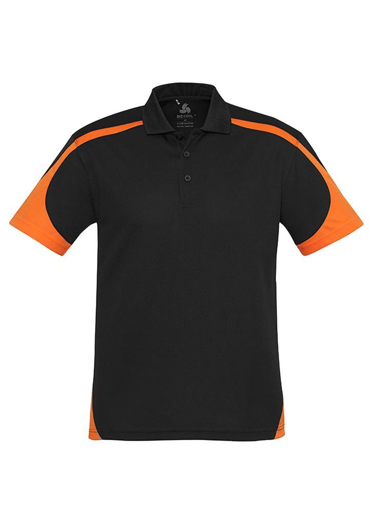 Impact gear talon polo shirt for Orange polo shirt mens