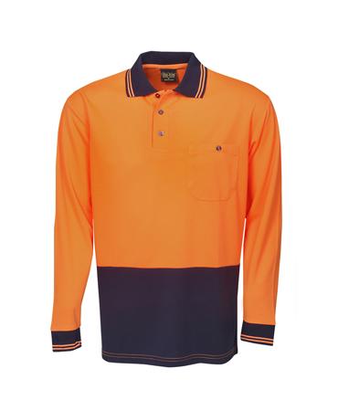 Fluro Orange/ Navy
