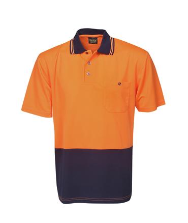 Fluro Orange / Navy