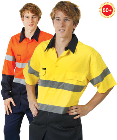 3 way cool breeze Hi Vis safety shirt