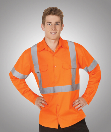 Hi Vis safety shirt Orange