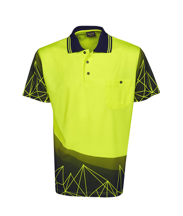 P66 Fluro Yellow / Navy
