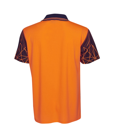 P66 Orange / Navy Back
