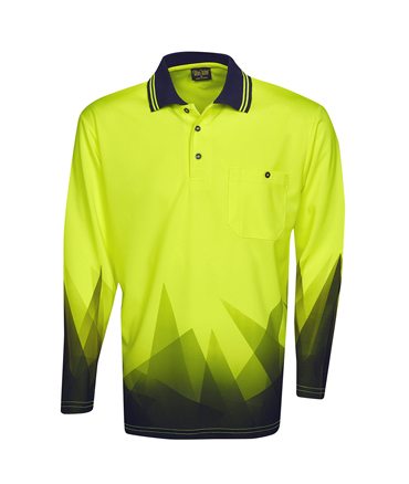 P68 Fluro Yellow / Navy