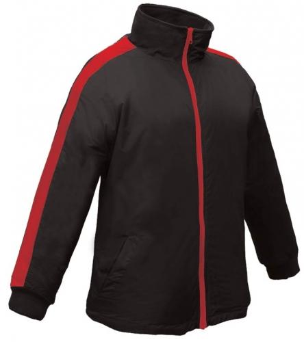 Black red pinnacle jacket