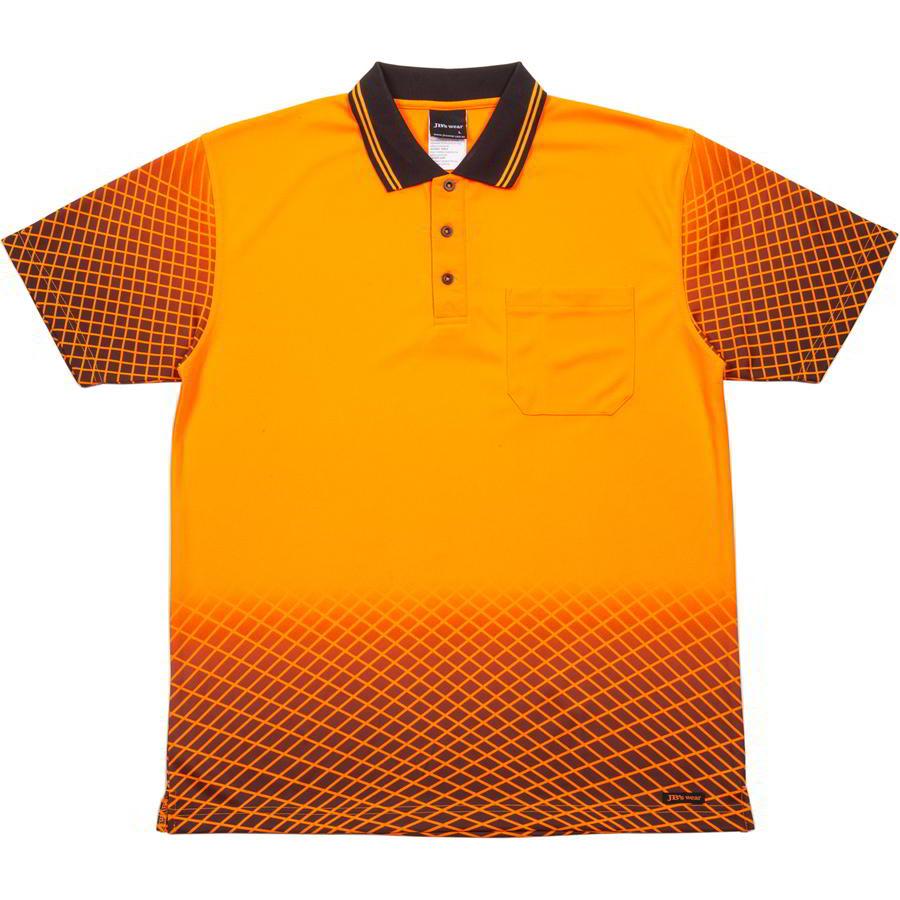 6HVNS Hi Vis Net Sub Polo shirt