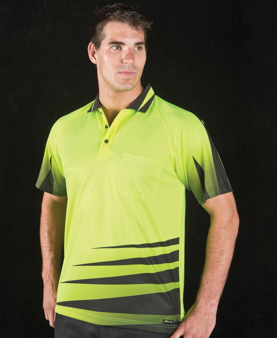 Hi Vis Rippa Polo shirt