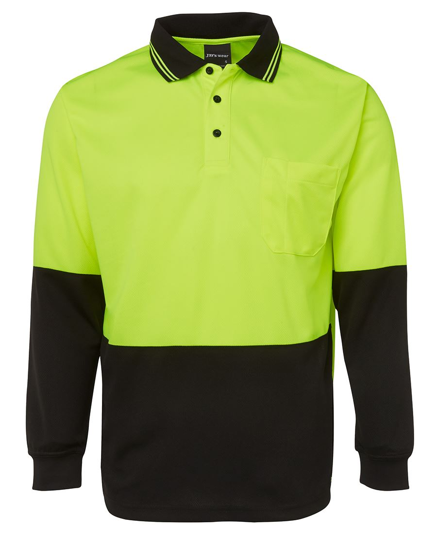 Hi Vis Net Sub Polo shirt