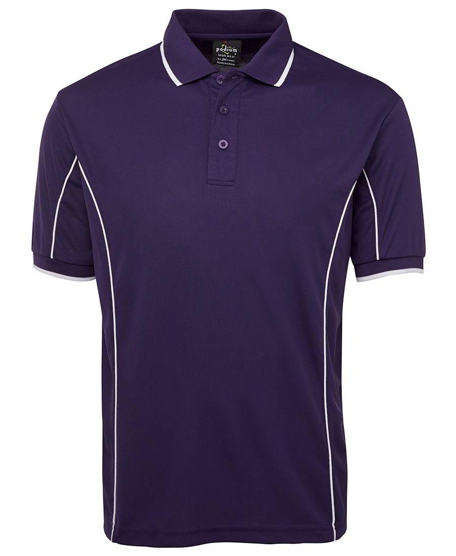 Mens Piping Polo shirt