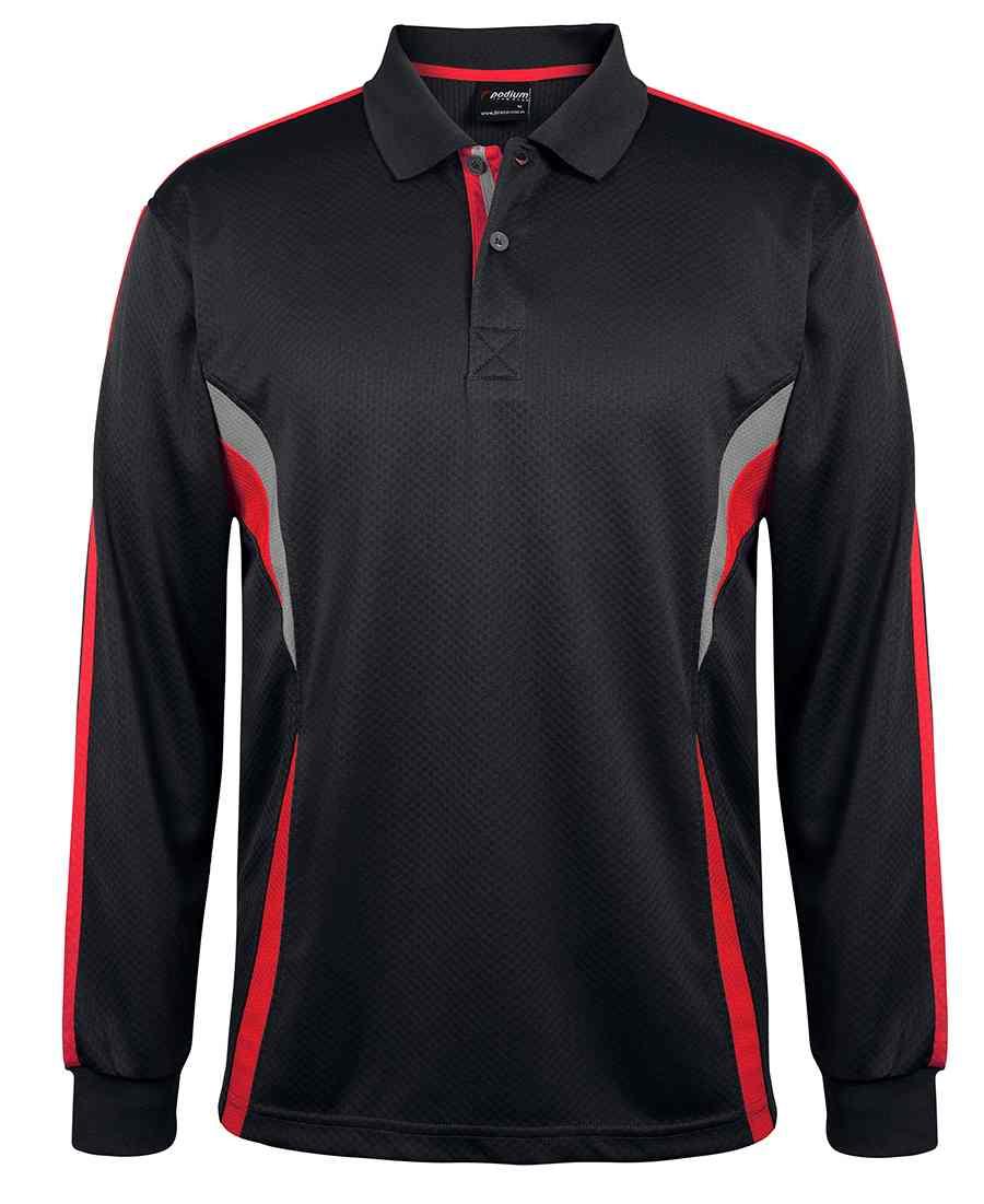 Cool Long sleeve polo shirt