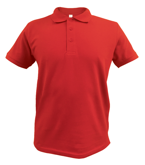 Red Ace Polo shirt