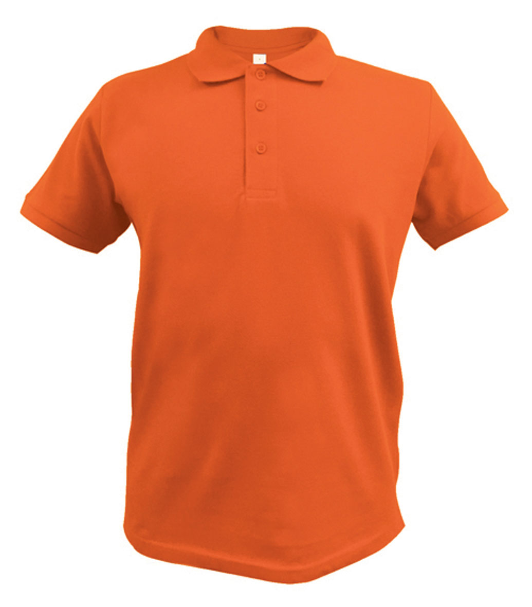 Orange Ace Polo shirt