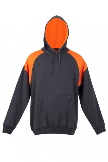 Charcoal / Orange Hoodie