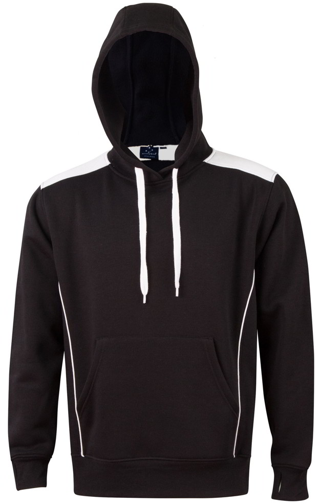 Black / White Pullover Hoodie