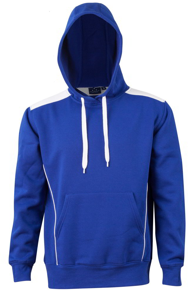 Royal / White Croydon Pullover Hoodie