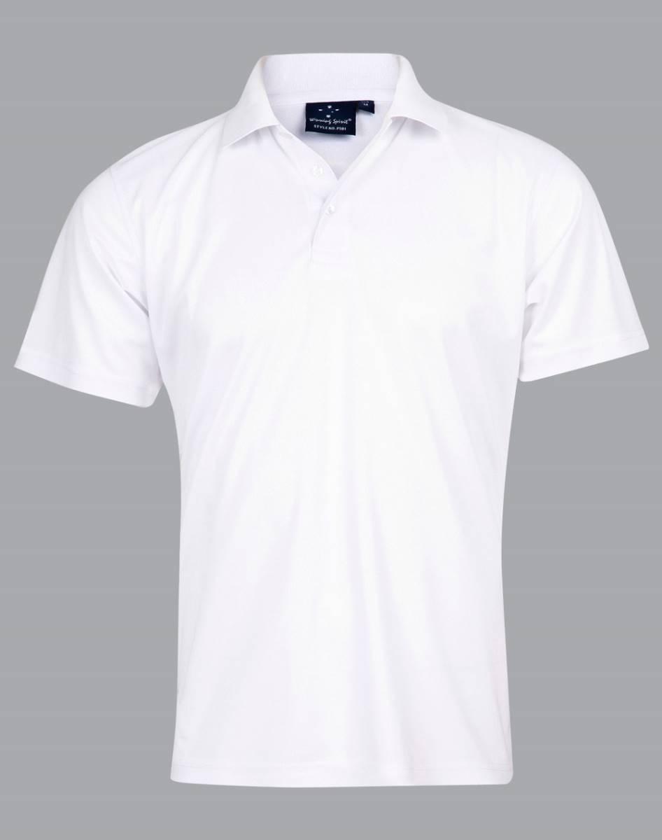 White Curra Polo
