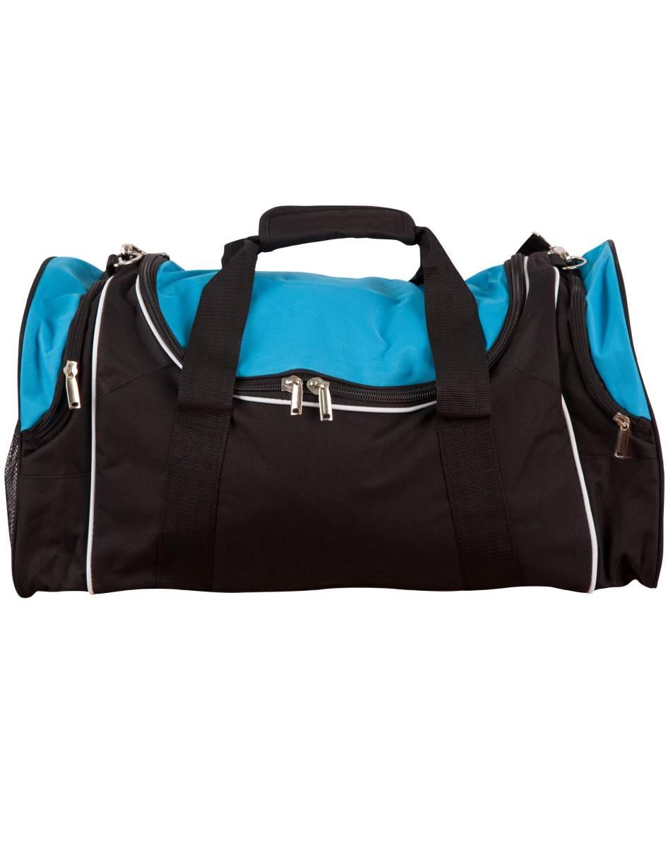 Sport bag Winner Black / White / Aqua