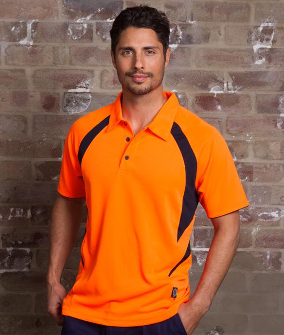 Hi Vis Liberator Polo shirt