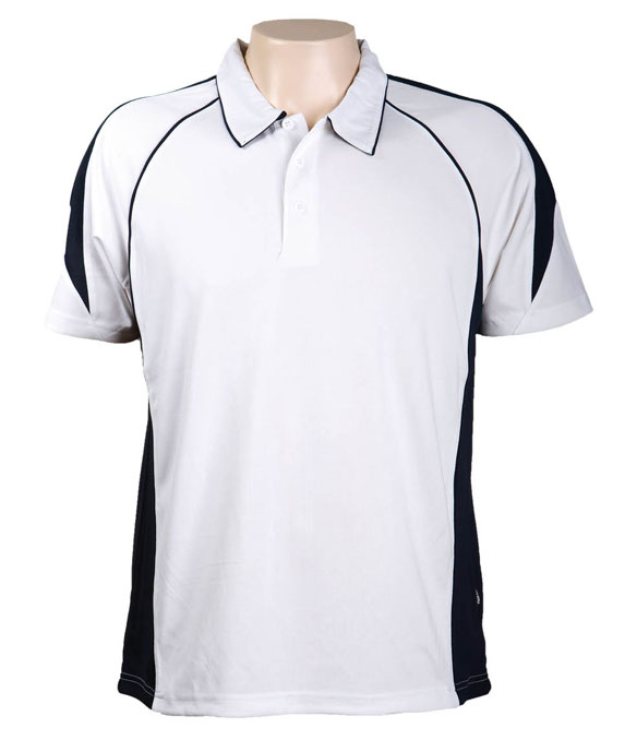 White Navy Olympikool Polo shirts, Cool dry, breathable, light weight, Mens, Ladies, Kids