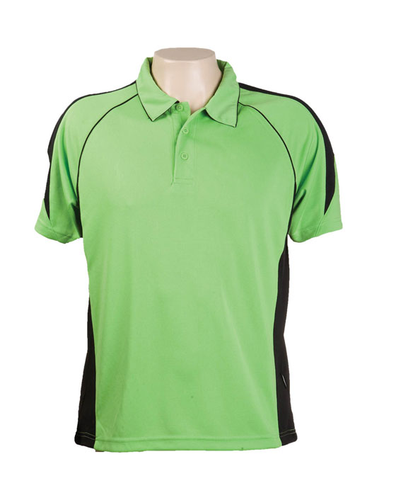 aPPLE bLACK 334 Olympikool Polo shirts, Cool dry, breathable, light weight, Mens, Ladies, Kids