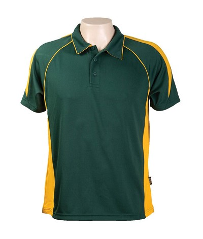Bottle Gold Kool Dri Polo shirts334 Olympikool Polo shirts, Cool dry, breathable, light weight, Mens, Ladies, Kids