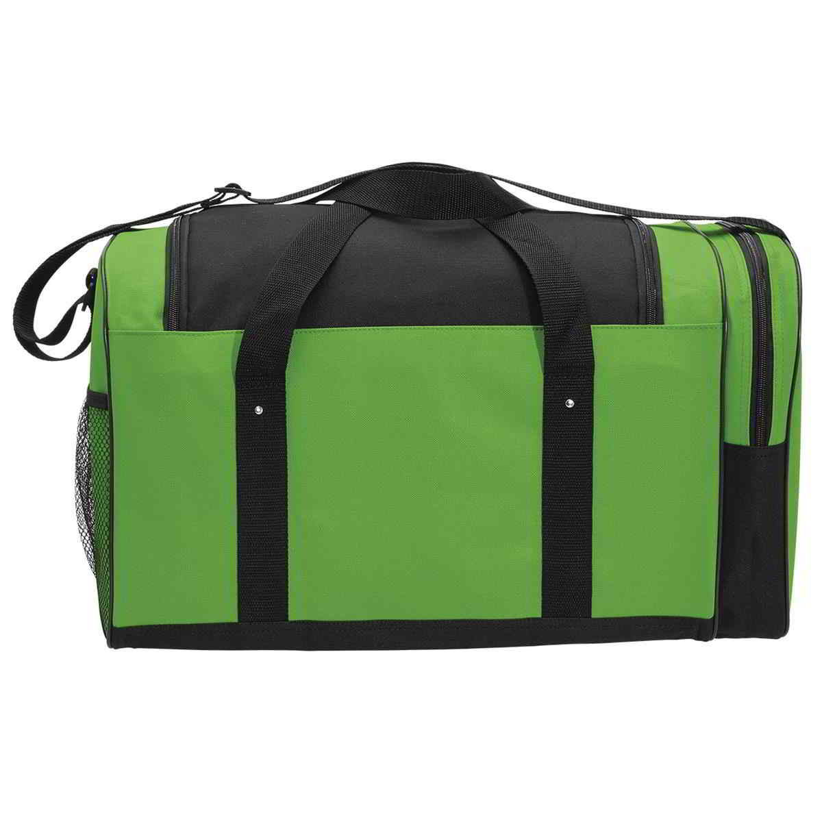Lime / Black Spark Sports Bag