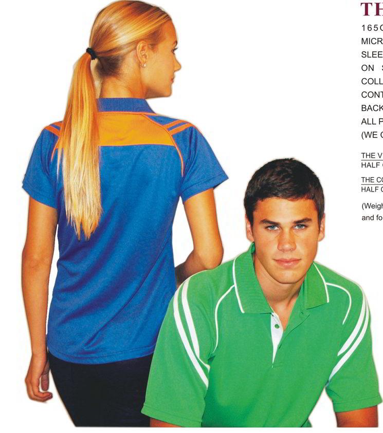 Viper Mens and Cobra Ladies Cool dry Polo shirts